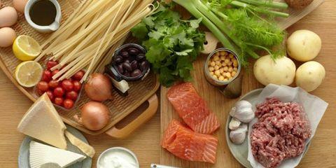 Food, Ingredient, Produce, Whole food, Dishware, Root vegetable, Tableware, Natural foods, Local food, Vegan nutrition,