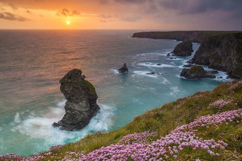 Cornwall, Bedruthan Steps