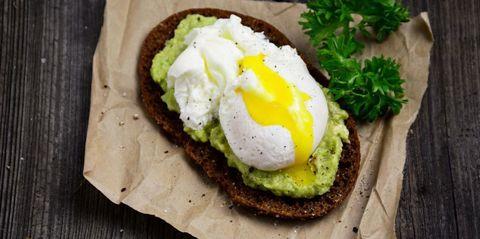 Food, Ingredient, Breakfast, Finger food, Dish, Plate, Tableware, Egg white, Meal, Recipe,