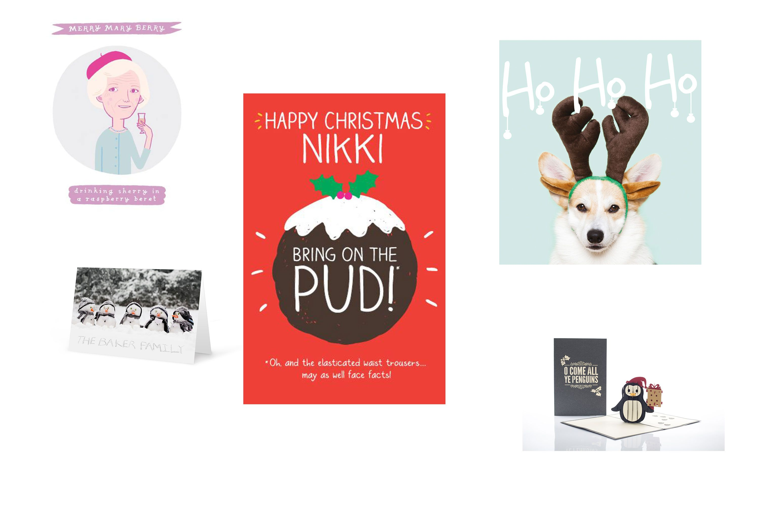Unique Christmas Cards.The Best Unique Christmas Cards For The Special Person In
