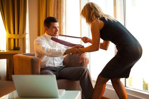 Comfort, Interior design, Sitting, Elbow, Interaction, Curtain, Conversation, Window treatment, Laptop, Window covering,