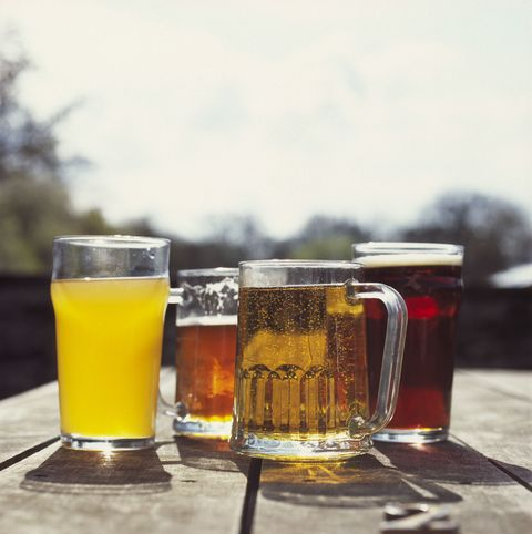 Beer Glass Shapes Determine How Fast You Drink - Delish.com