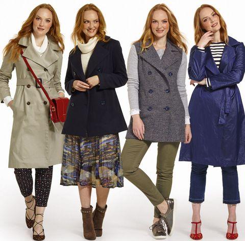 Clothing, Leg, Coat, Sleeve, Human body, Textile, Collar, Standing, Outerwear, Winter,