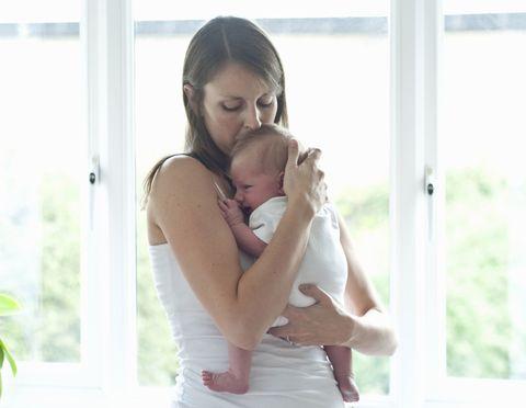 newborn baby new mum