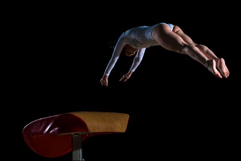 Human leg, Elbow, Wrist, Knee, Muscle, Thigh, Calf, Back, Acrobatics, Hip,