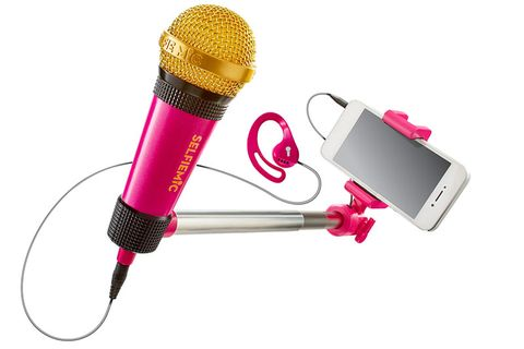 Audio equipment, Electronic device, Microphone, Magenta, Technology, Pink, Violet, Purple, Audio accessory, Gadget,