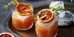 blood orange and carrot negroni