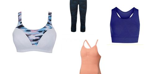 Supportive workout wear