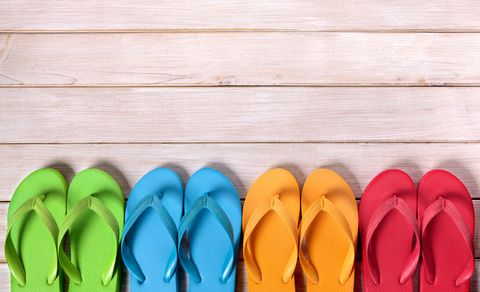 What colour are these flip flops?