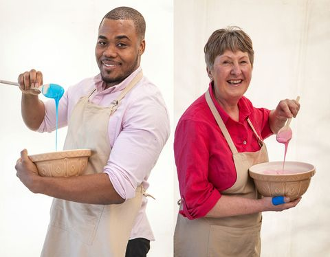 Selasi and Val Bake Off friendship