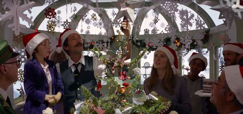 H&M christmas advert directed by Wes Anderson