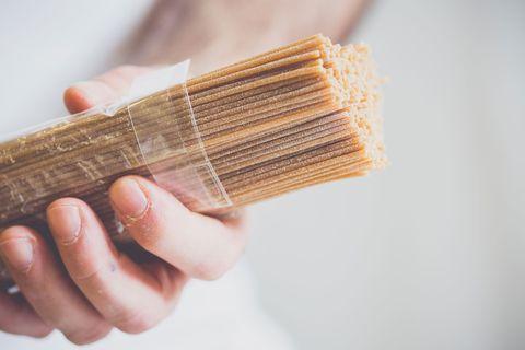 Spaghetti in tea