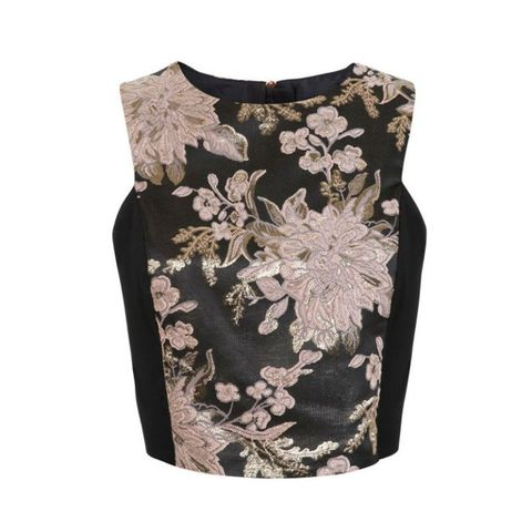 Brown, Pattern, Lace, Embellishment, Pattern, Natural material, One-piece garment, Day dress, Motif,