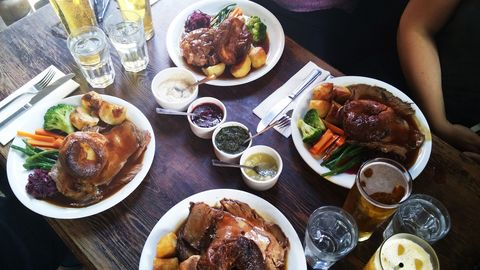 Roast dinner yougov survey