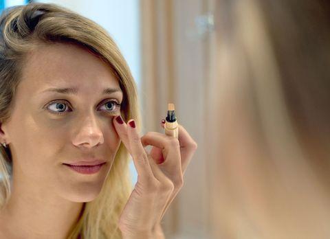 Make-up hangover tips