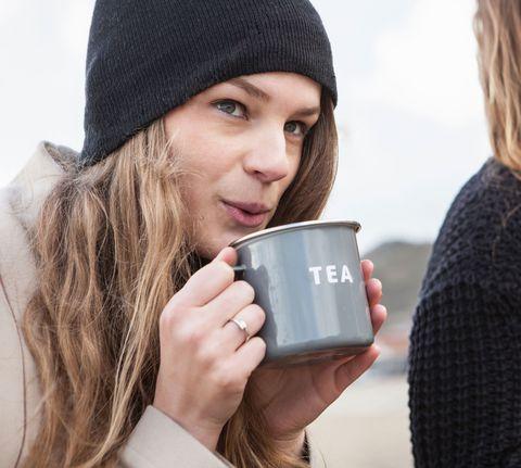 Prosecco tea