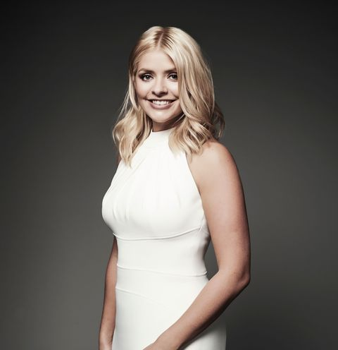 Holly Willoughby at Christmas