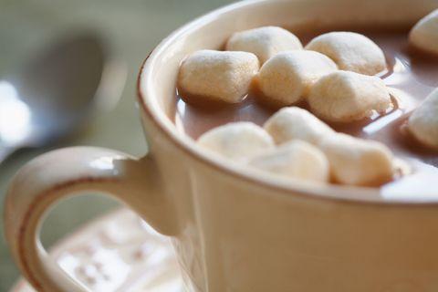 Unicorn hot chocolate new trend