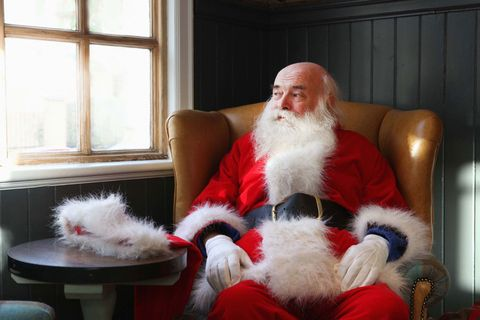 Father Christmas and other characters in different languages