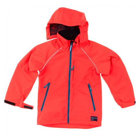 Clothing, Product, Sleeve, Collar, Red, Textile, Jacket, Outerwear, White, Orange,