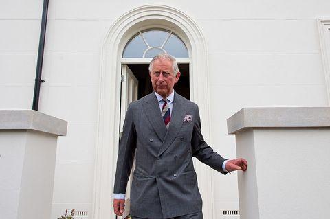 Prince Charles visits Poundbury