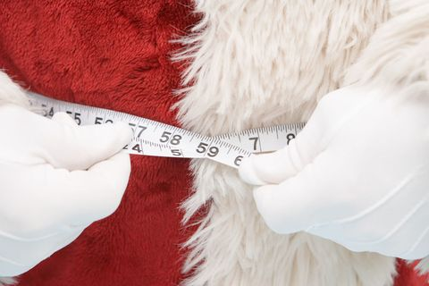 How long it takes to lose Christmas weight