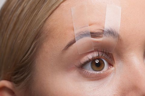 Can sticky tape make you look younger?