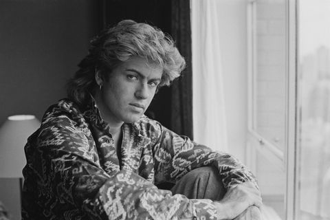 George Michael young 80s
