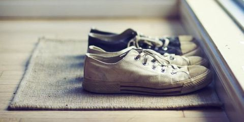 Footwear, Product, Shoe, Brown, Photograph, White, Style, Line, Light, Athletic shoe,