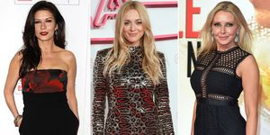 Catherine Zeta-Jones, Fearne Cotton and Carol Vorderman