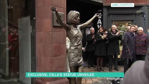 Cilla Black statue unveiled in Liverpool