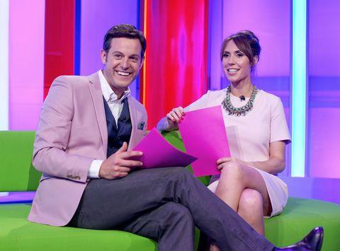 Matt Baker and Alex Jones on The One Show