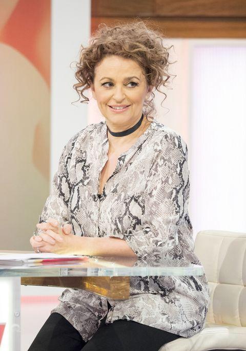 Nadia Sawalha boob tape