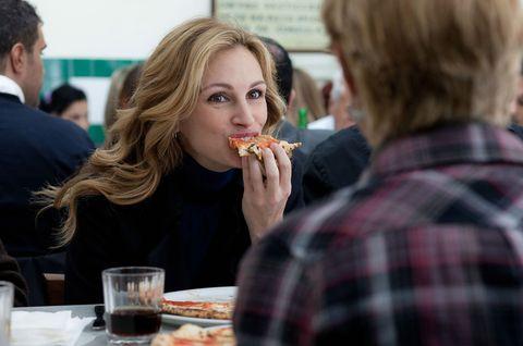 Eat Pray Love pizza