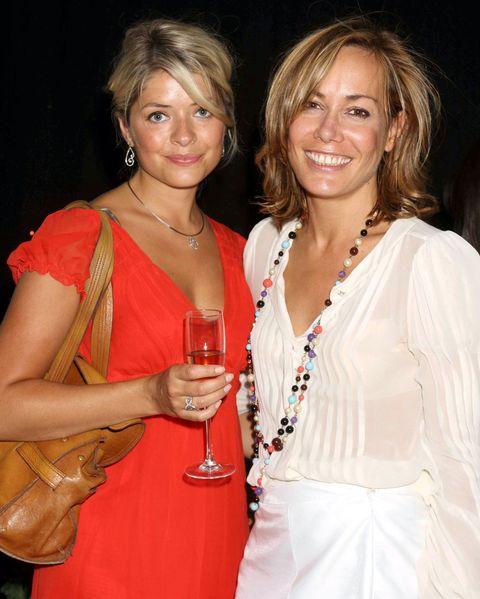 Holly Willoughby and Tara Palmer-Tomkinson