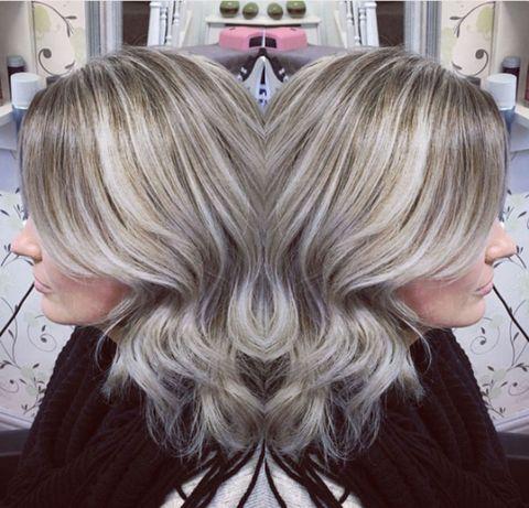 Ash balayage hair trend for 2017