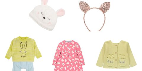Kids' Easter outfit and accessories