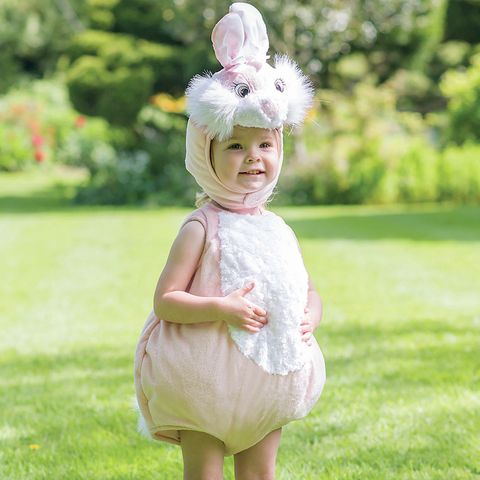 Clothing, Dress, Pink, People in nature, Baby & toddler clothing, Headgear, Costume accessory, Day dress, Headpiece, Hair accessory,