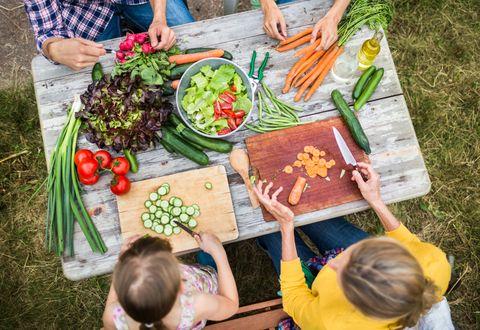 Not peeling vegetables make them healthier