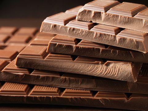 Chocolate, Chocolate bar, Confectionery, Food, Fudge, Dessert, Toffee, Cuisine, Metal,