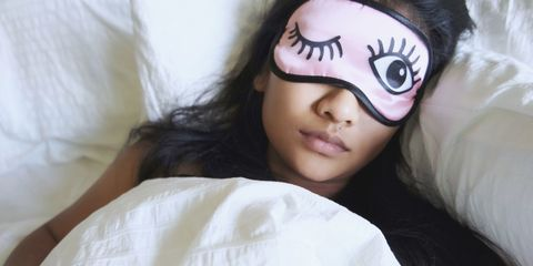 So *this* is why you stop feeling sleepy the second you get in bed
