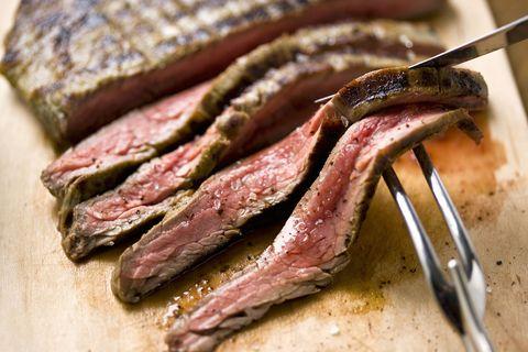 Food, Rack of lamb, Dish, Pastrami, Cuisine, Flat iron steak, Meat, Ingredient, Brisket, Animal fat,