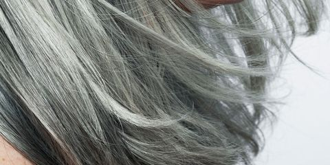 Hairstyle, Style, Blond, Long hair, Grey, Brown hair, Photography, Hair coloring, Close-up, Silver,