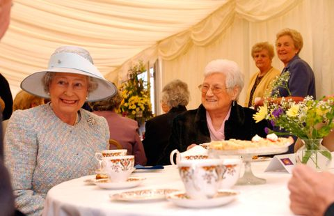 The queen afternoon tea
