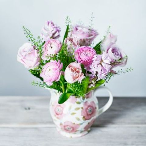 Flower, Bouquet, Pink, Cut flowers, Rose, Plant, Garden roses, Flower Arranging, Flowering plant, Floristry,