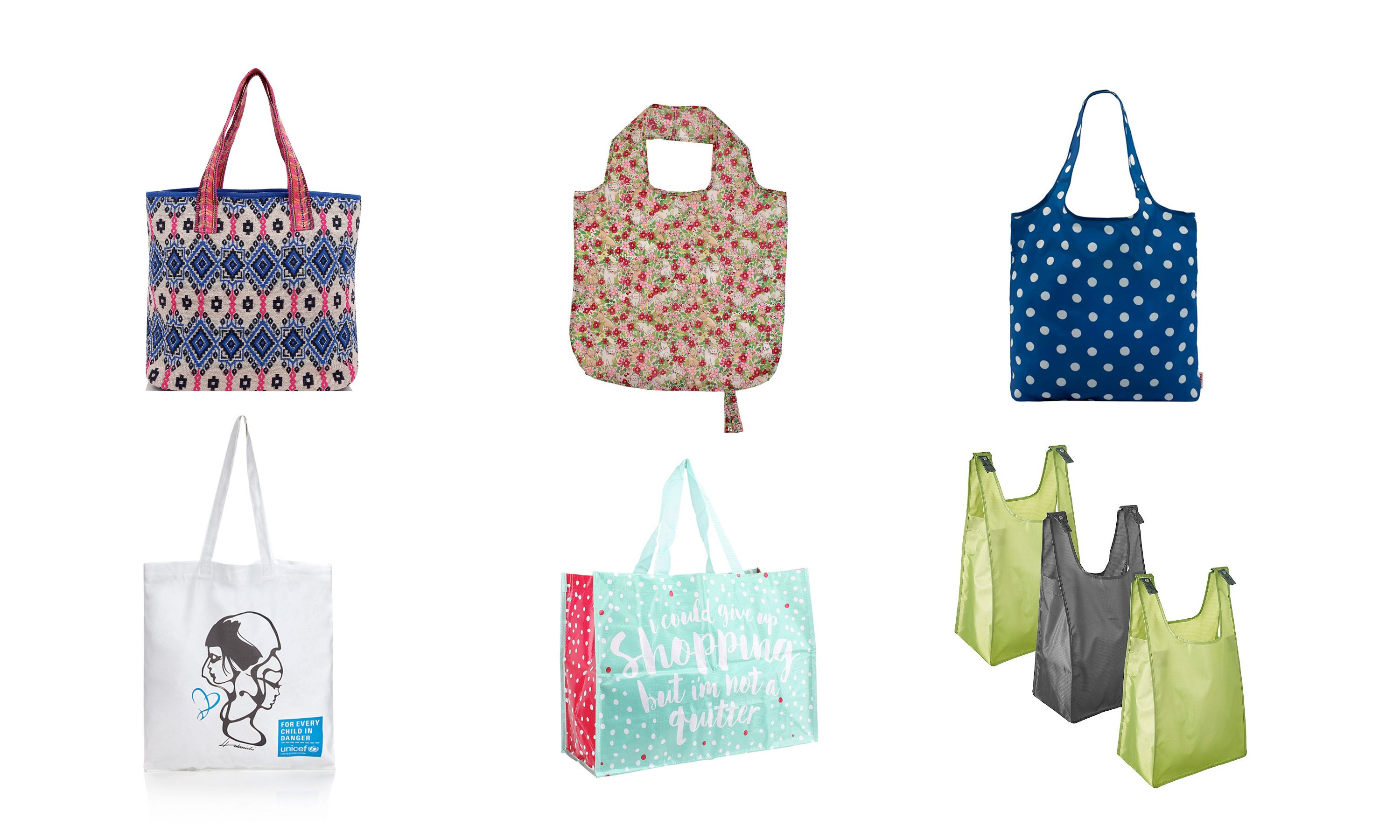 Reusable bags: 10 pretty and practical shopping totes you'll