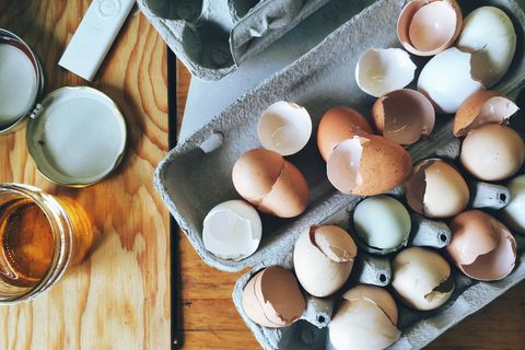 Here's how you can bake cupcakes inside real egg shells for Easter
