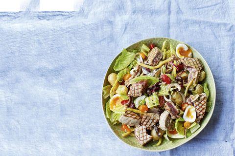Tuna niçoise salad James Martin recipe