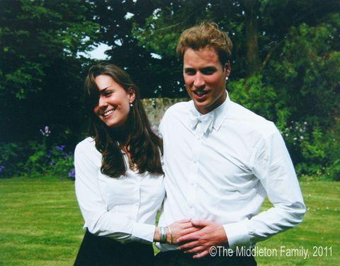 "<p>The love story begins at St Andrews University, where William and Kate are both studying art history. The prince later switches to a geography course, but the pair remain close. In 2002, they move into a student house with two other friends and by Christmas 2003, romance blossoms when Kate splits from her previous boyfriend. Their relationship becomes public after they are pictured skiing in Klosters together and in June 2005, the royal and his new girlfriend are pictured looking very much in love on the day of their graduation ceremony.<span class=""redactor-invisible-space"" data-verified=""redactor"" data-redactor-tag=""span"" data-redactor-class=""redactor-invisible-space""></span></p>"