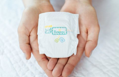 Pampers premie nappy